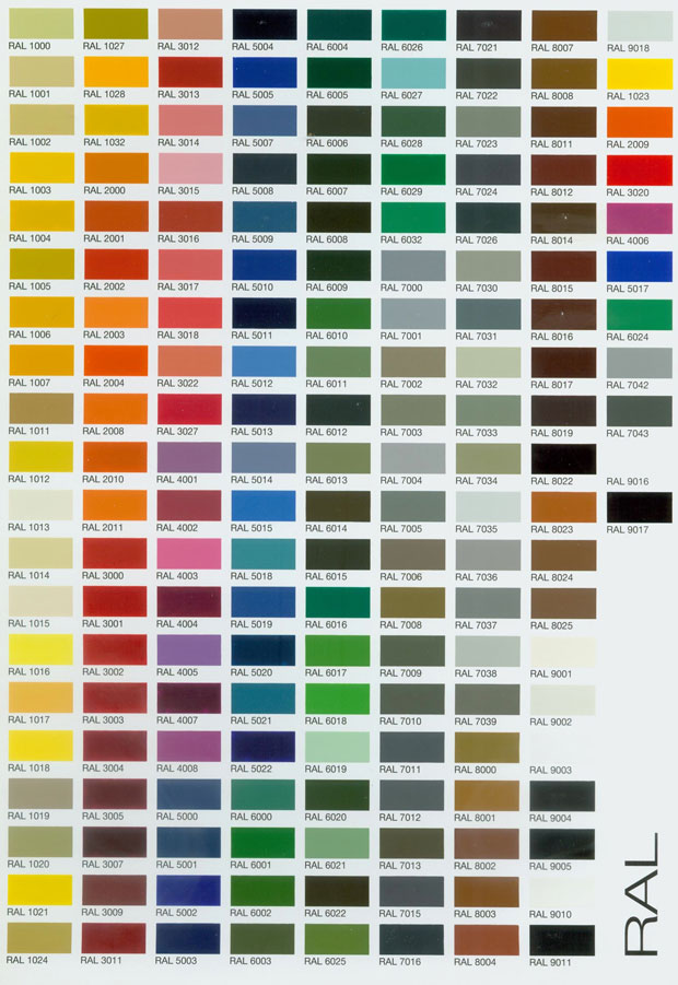 Ral Safe Paint Choices
